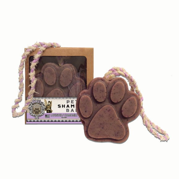 Pet Shampoo Bar : Lavender scent (High Quality, All Natural Ingredients) Dog Soap - LEAGUE OF CRAFTY CANINES