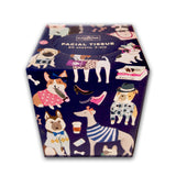 Facial Tissues (80 Sheets, 2 Ply) Featuring Well Dressed Dogs Travelling - LEAGUE OF CRAFTY CANINES