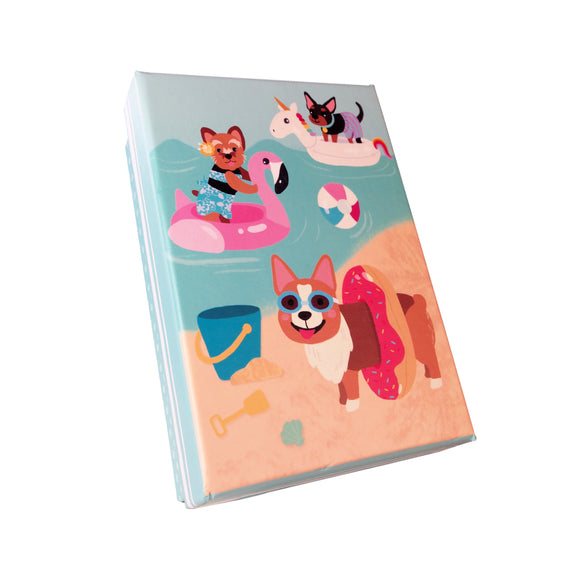 Colorful Dog Beach Buddies Gift Box - LEAGUE OF CRAFTY CANINES
