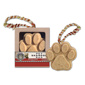 Pet Shampoo Bar : Spiced Cider scent (High Quality, All Natural Ingredients) Dog Soap - LEAGUE OF CRAFTY CANINES