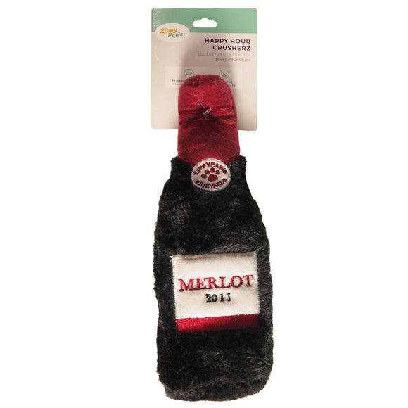 Dog Toy : Merlot Dog Toy Plush - LEAGUE OF CRAFTY CANINES