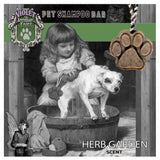 Pet Shampoo Bar : Herb Garden scent (High Quality, All Natural Ingredients) Dog Soap - LEAGUE OF CRAFTY CANINES