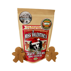 Miss Valentine's Tasty Treats (Gluten Free Dog Cookies) Ginger & Blackstrap Molasses - LEAGUE OF CRAFTY CANINES