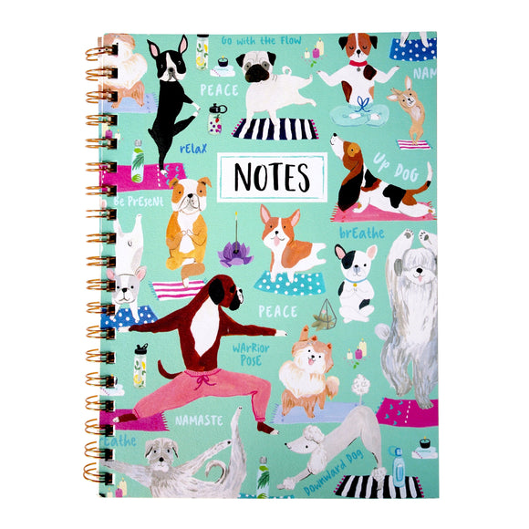 Clementine Paper Inc. : Dog themed Recycled Journal - Eco-friendly