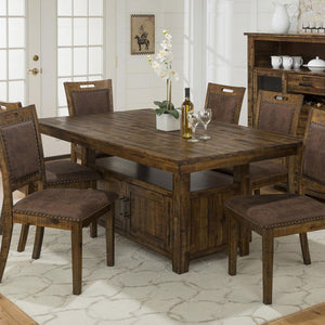 Cannon Valley Pedestal Dining Set