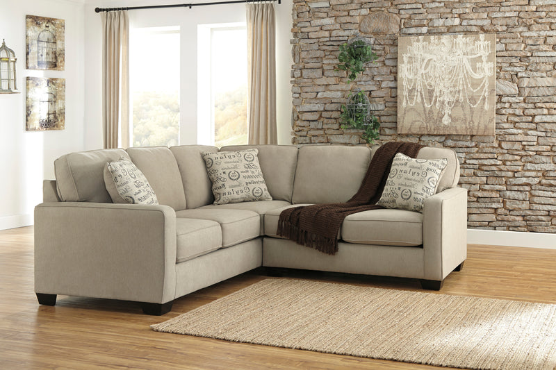 Mason Linen Sectional - Lifestyle Furniture