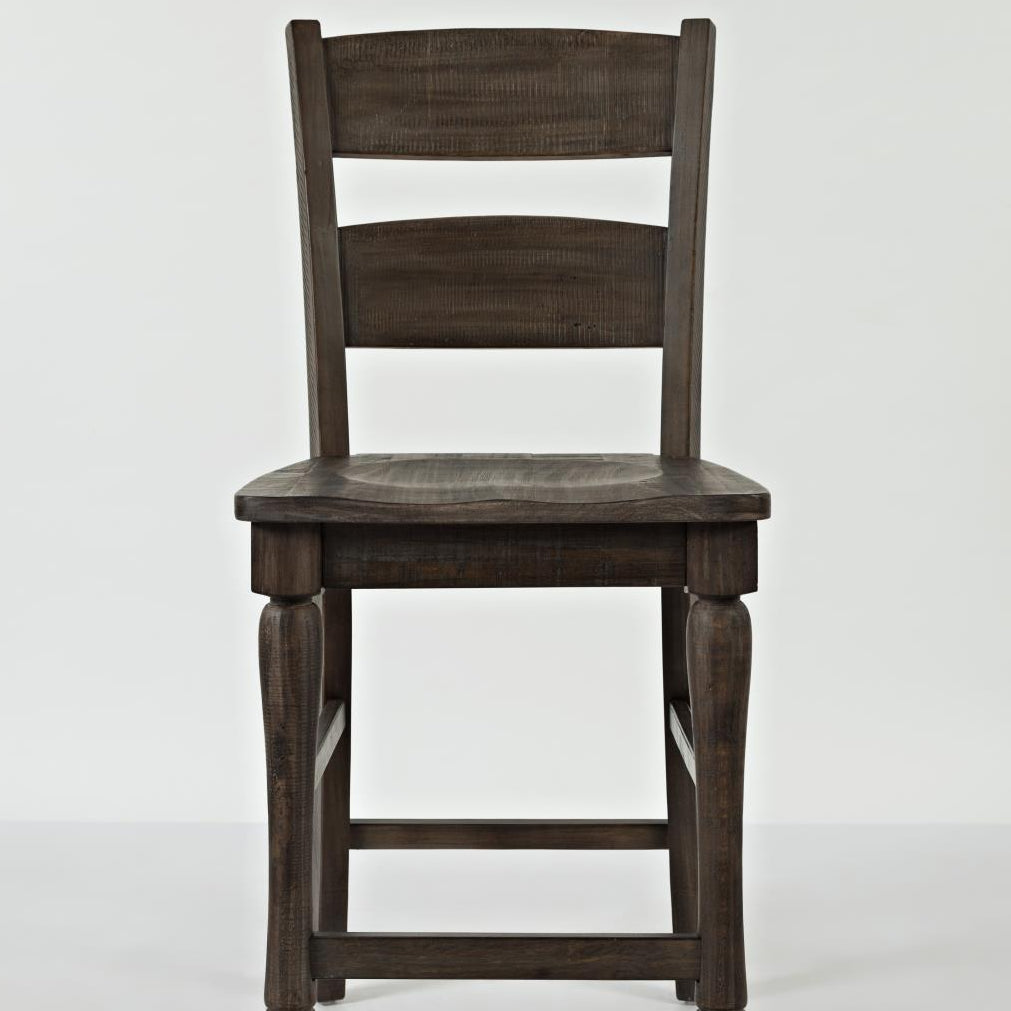 2 x Madison Barnwood Ladderback Stools - Lifestyle Furniture