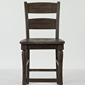 2 x Madison Barnwood Ladderback Stools