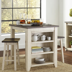 Madison Country Vintage 3 PC Counter Height Set - Lifestyle Furniture