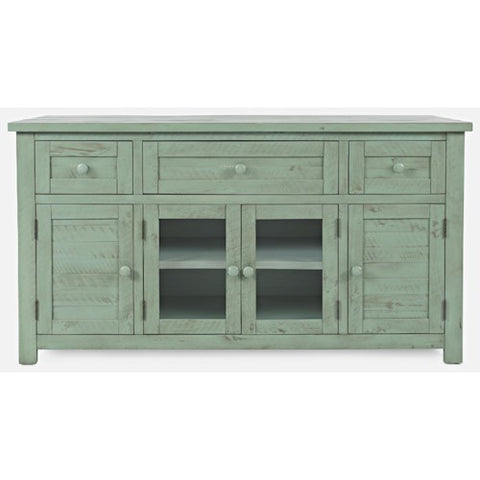 "American Folklore 60"" Console Antique Green - Lifestyle Furniture"