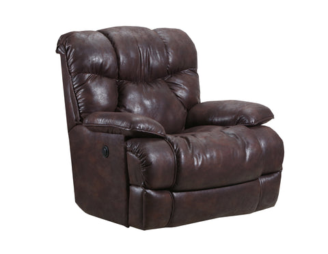Lane Home Furnishings 4215P Bruno Chocolate Wall Saver Power Recliner - Lifestyle Furniture