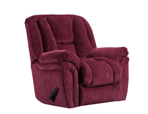 Lane Home Furnishings 4216  Show Biz Wine Rocker Recliner