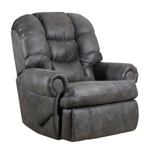 Lane Home Furnishings 4501 ComfortKing Gladiator Charcoal Rocker Recliner