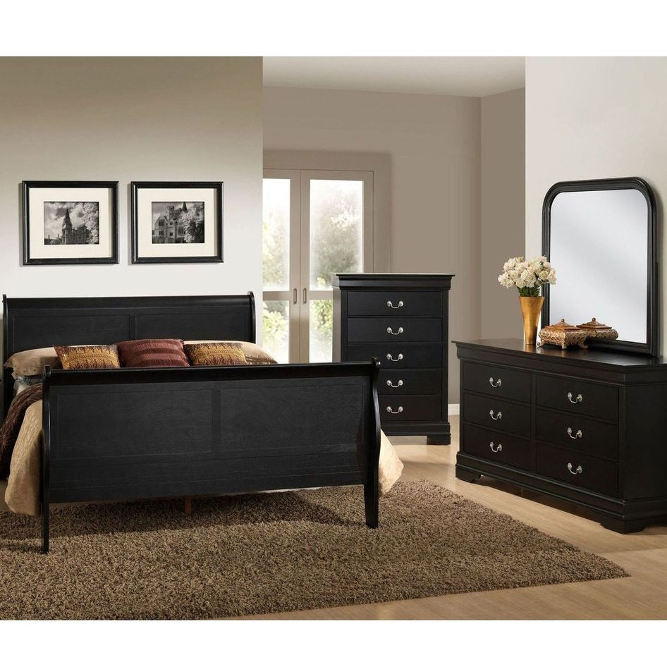Louis Philippe Black Youth - Lifestyle Furniture