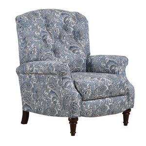 Lane Home Furnishings 6003 Hi Leg Recliner Zulu Indigo