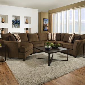 Albany Chestnut Sectional