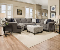Albany Slate Sectional - Lifestyle Furniture