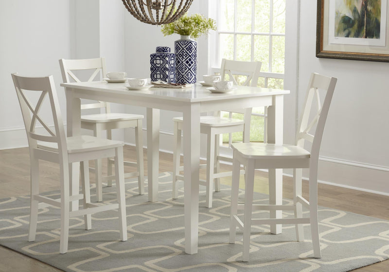 Teleflora Counter Height Dining Set - Lifestyle Furniture