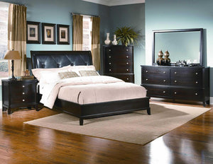 Diamond Tufted Bedroom Set