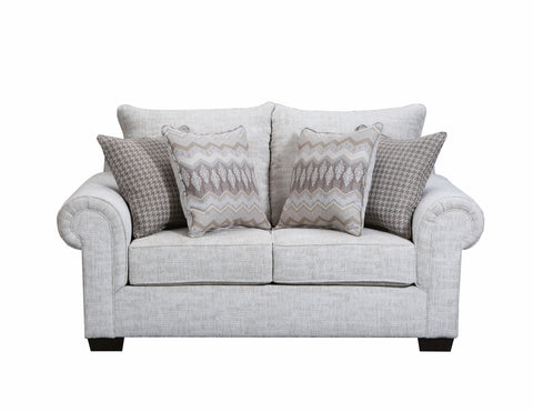 Gavin Linen Sectional - Lifestyle Furniture