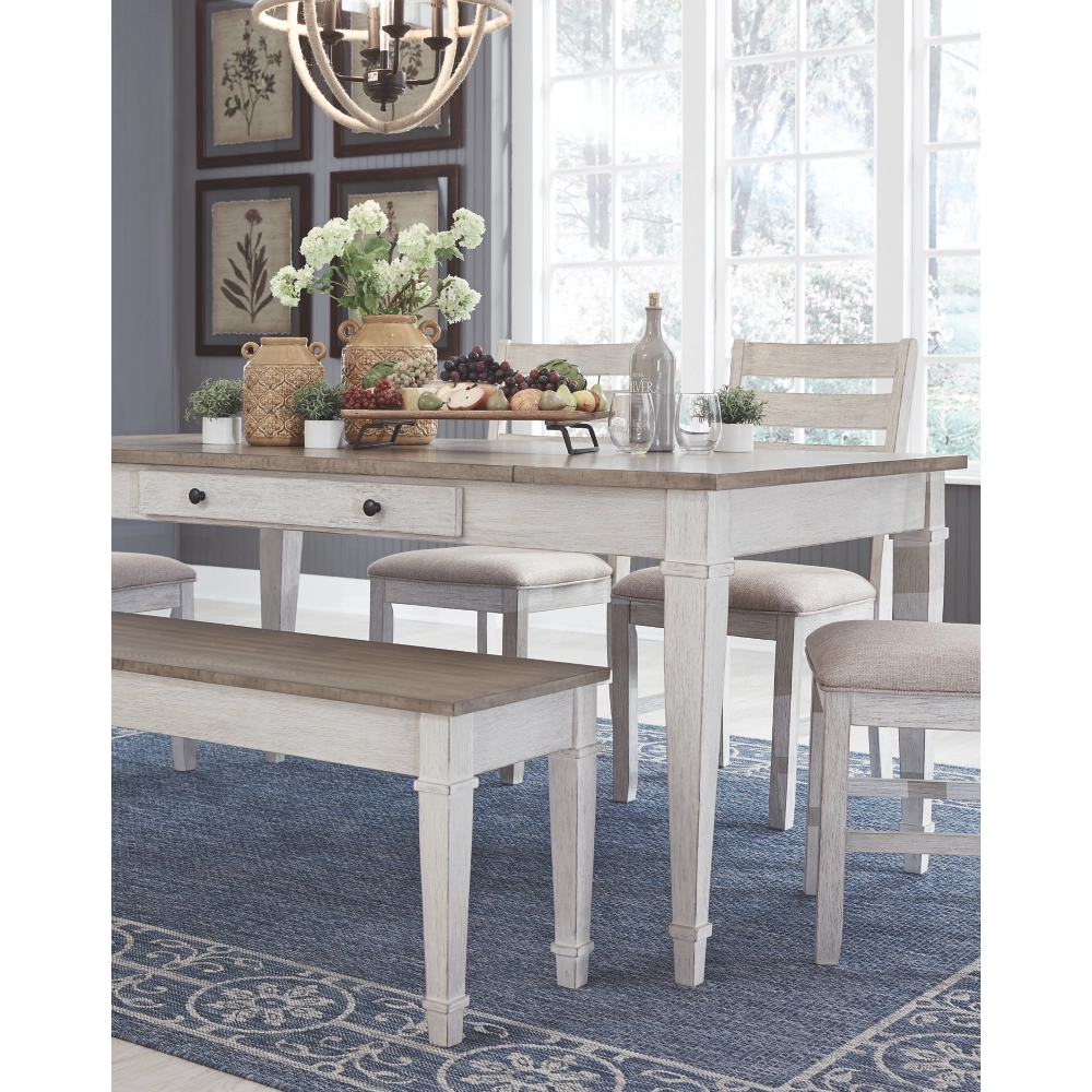Willowton Dining Table With Storage - Lifestyle Furniture