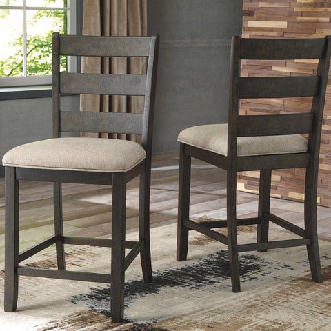 2 x Rokane Counter Stools - Lifestyle Furniture