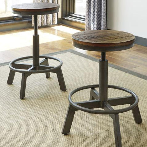 2 x Parksdale Stools - Lifestyle Furniture