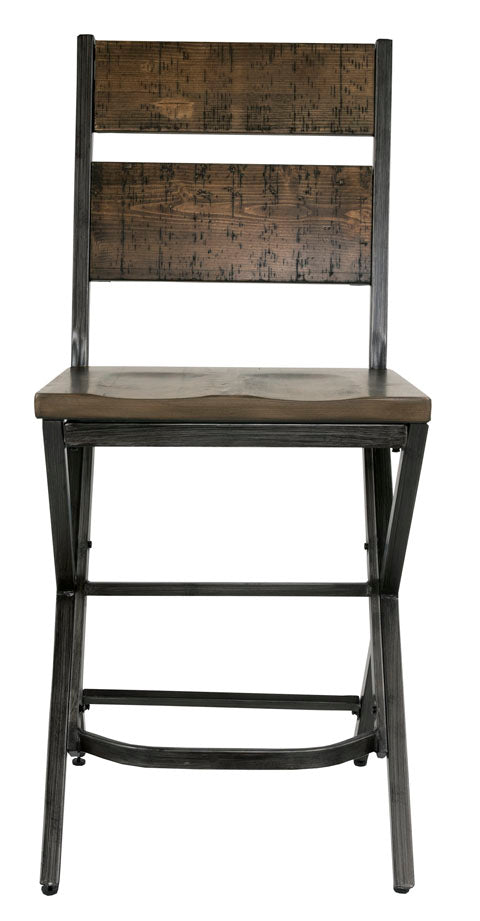 2 x Boon County Counter Stools - Lifestyle Furniture