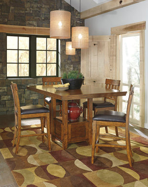 Ralene Counter Height Dining Set - Lifestyle Furniture