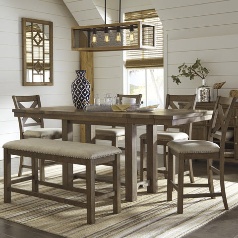 Lawrence Counter Height Dining Set - Lifestyle Furniture