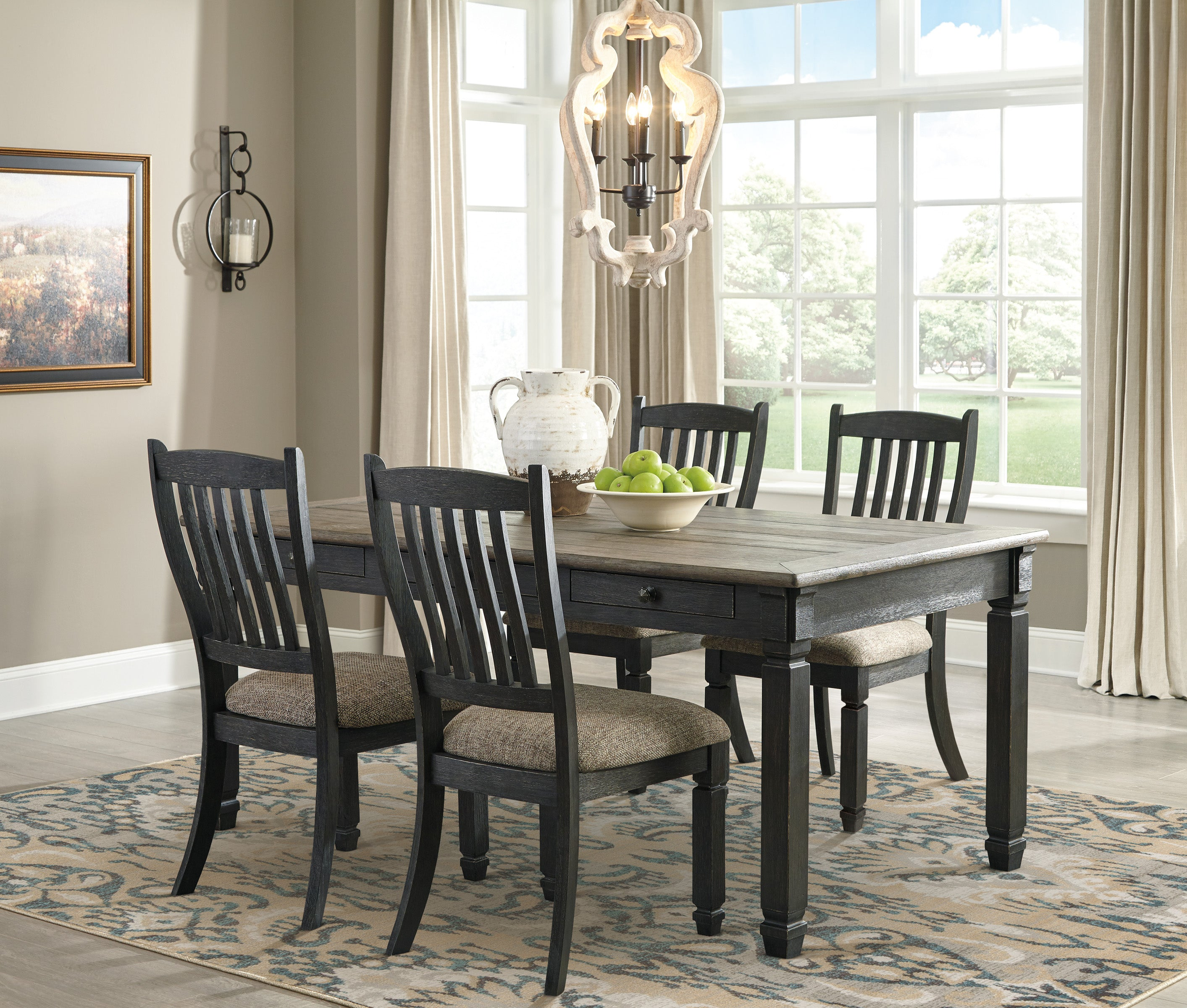 Coffee County Dining Set - Lifestyle Furniture