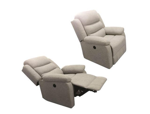 Rainer 3 Power Recliner Chair - Lifestyle Furniture