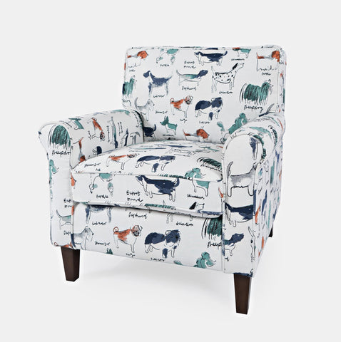 Baxter-CH-Multi Accent Chair - Lifestyle Furniture
