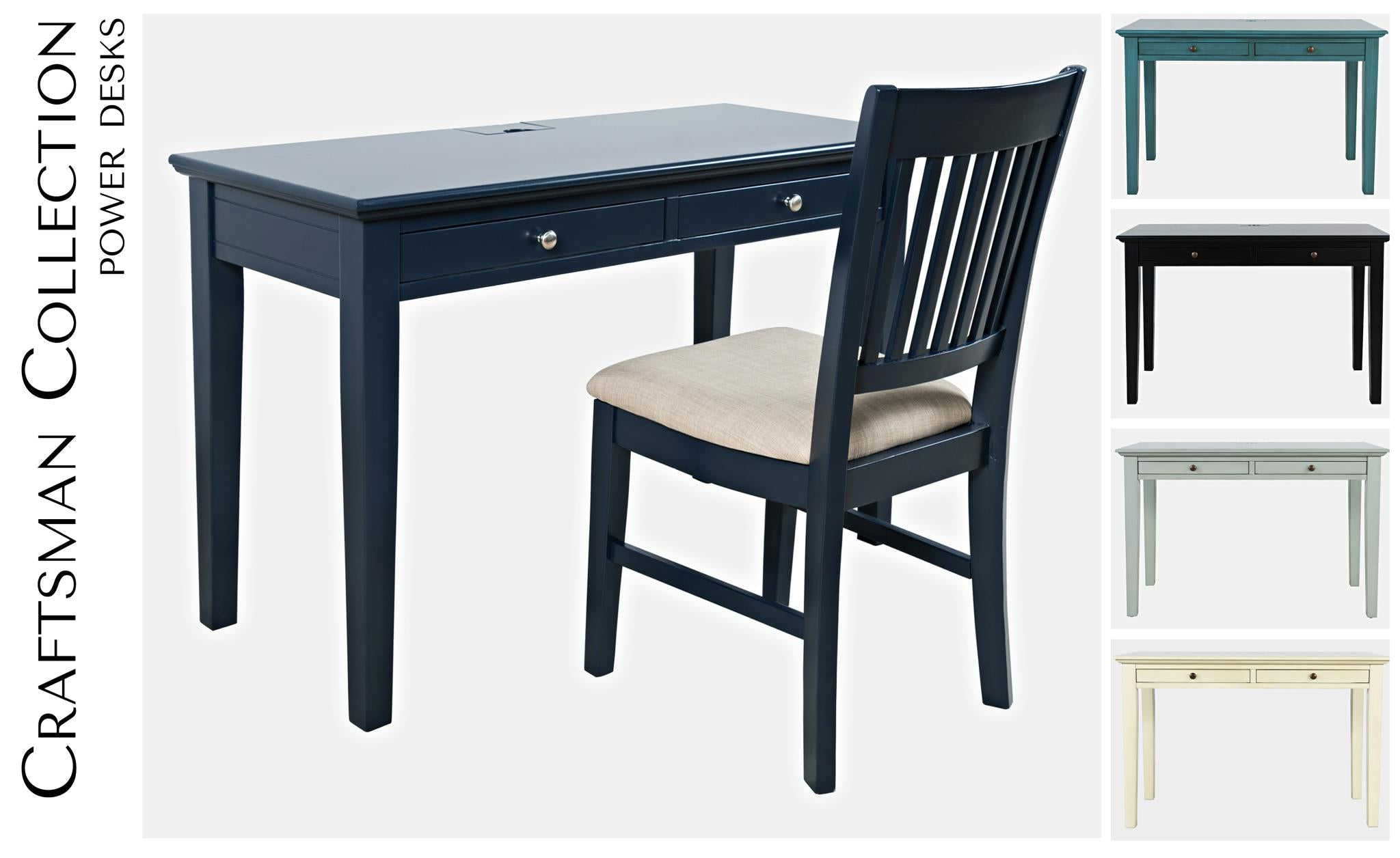 Craftman Power Desk & Chair - Lifestyle Furniture