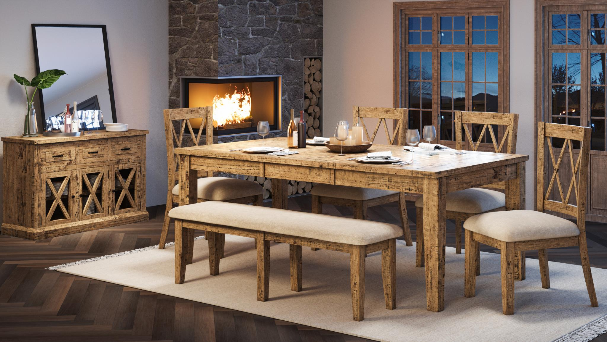 Natural Pine Dining - Lifestyle Furniture