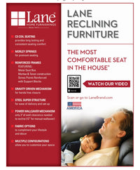 Lane Home Furnishings ComfortKing 8424 Rocker, Recliner - Lifestyle Furniture