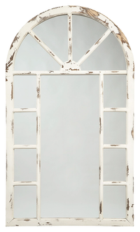 Divakar Antique Accent Mirror - Lifestyle Furniture