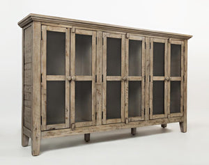 Rustic Shores Accent Cabinet