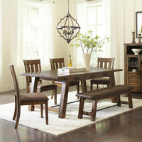 Cannon Valley  Trestle Dining Set - Lifestyle Furniture