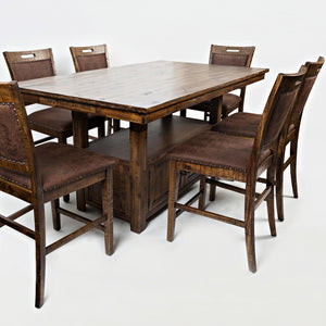 Cannon Valley Counter Height Pedestal Dining Set
