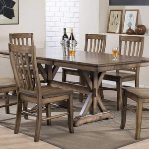 Oakhurst Counter Height Trestle Dining Set