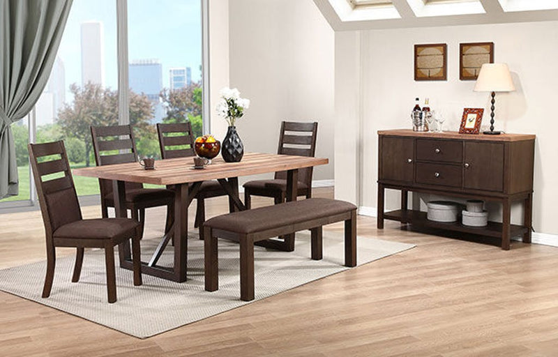 Venice 3 Trestle Dining - Lifestyle Furniture