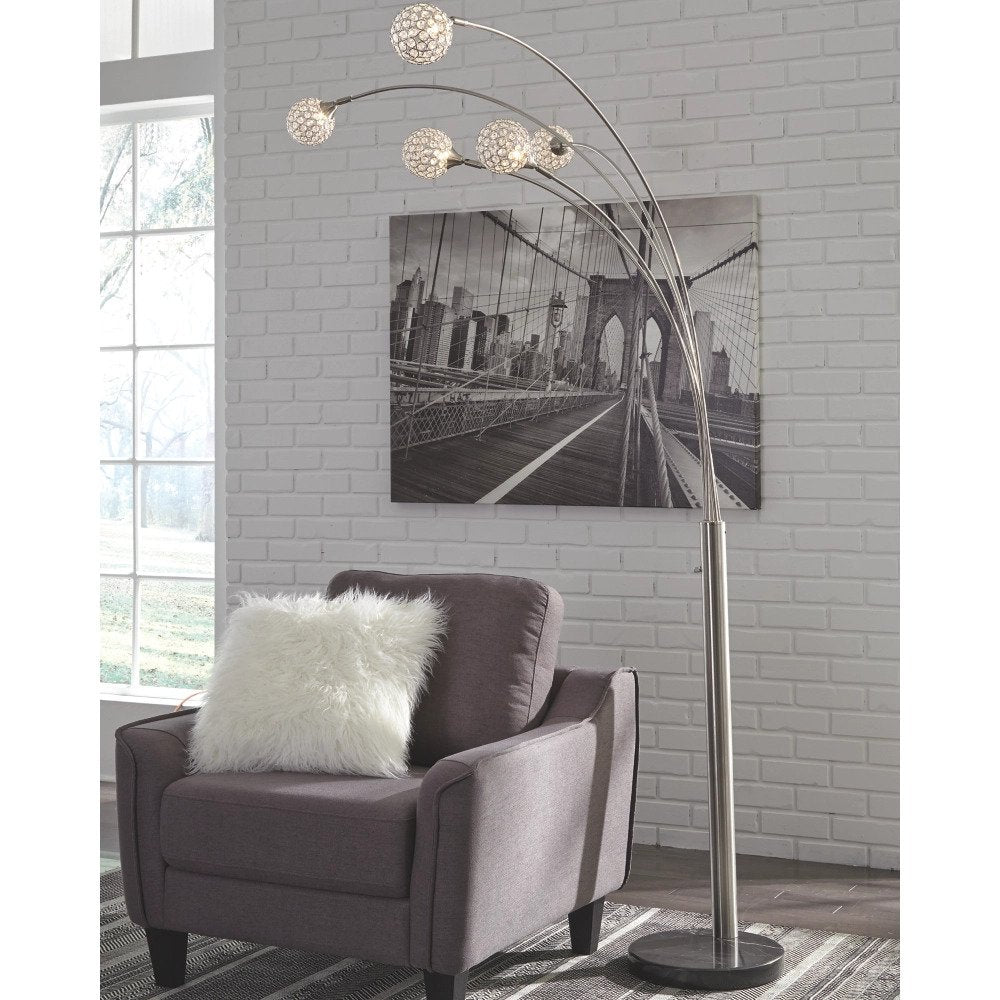 Metal ARC Lamp - Lifestyle Furniture