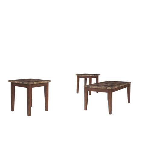 Aveivo 3pc Table Set - Lifestyle Furniture
