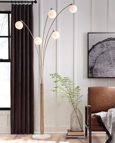 Taliya Arc Lamp - Lifestyle Furniture