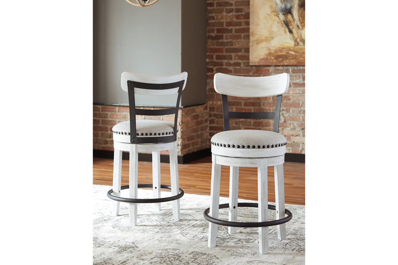 Valebeck Counter Height Bar Stool - Lifestyle Furniture
