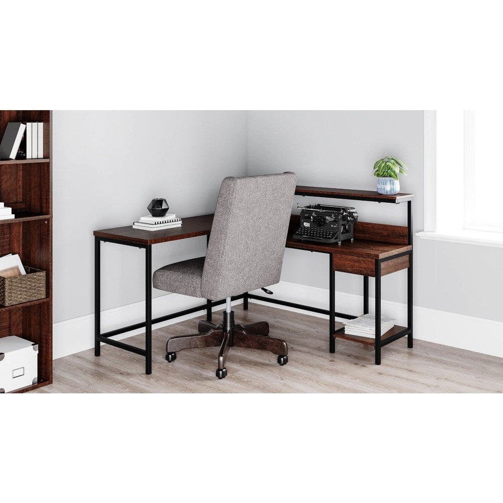 LA 3 Office Desk - Lifestyle Furniture