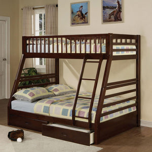Chance Twin/Full Bunkbed with Storage Drawers.