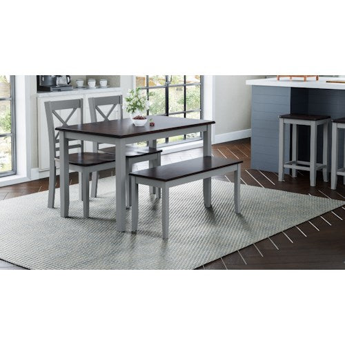 Grey Asbury Park - Dining Height Style - Lifestyle Furniture