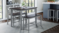 Grey Asbury Park - Pub Height Style - Lifestyle Furniture